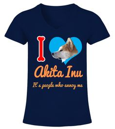 "# I'm In Love With Akita Inu .  HOW TO ORDER:1. Select the style and color you want2. Click ""Buy it now""3. Select size and quantity4. Enter shipping and billing information5. Done! Simple as that!TIPS: Buy 2 or more to save shipping cost!This is printable if you purchase only one piece. so don't worry, you will get yours.Guaranteed safe and secure checkout via: Paypal 