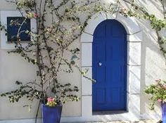 decoración marroqui blanco y azul - Buscar con Google