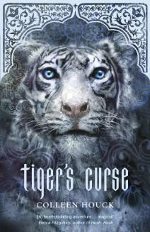 Tiger's Curse by Colleen Houck  My daughter gave me a signed edition since Colleen used to be her co-worker. I have this and the second saga on kindle