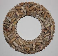 Do I need another excuse to have a good glass of wine?  I guess I just found one.  :)  Cheers to beautiful wreaths.