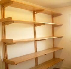 Wooden You Shelving | Wood Shelves | Wood Shelving | Custom Shelves