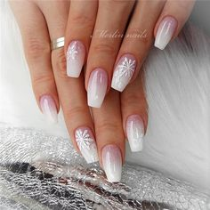 40 Gorgeous Ombre Nail art 2019 – Reny styles 40 Gorgeous Ombre Nail art 2019 – Reny styles,Nails Related Crazy Cute Winter Nail Designs Worth Copying This Year! Chistmas Nails, Xmas Nails, Holiday Nails, Christmas Acrylic Nails, Christmas Nails 2019, Winter Acrylic Nails, Snow Nails, Christmas Manicure, Red And Gold Nails