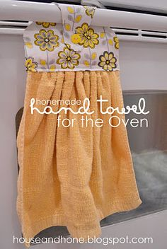 So, so tired of picking up towels that fall off the oven door. I need to do this.