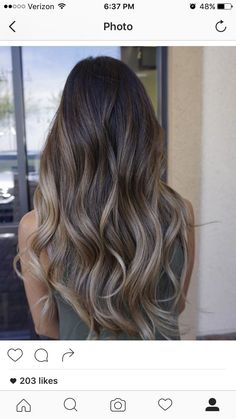 Balayage Blonde Ends - 20 Fabulous Brown Hair with Blonde Highlights Looks to Love - The Trending Hairstyle Brown Ombre Hair, Brown Hair Balayage, Brown Hair With Highlights, Brown Blonde Hair, Hair Color Balayage, Brown Hair Colors, Brunette Hair, Dark Hair, Hair Looks
