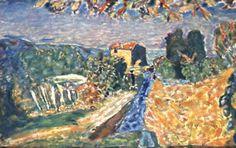 Pierre Bonnard,  Le canal de la Siagne, vers 1942  Collection particulière / Adagp, Paris 2011