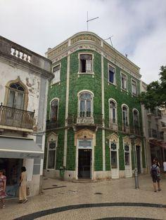 Das grüne Haus in Lagos