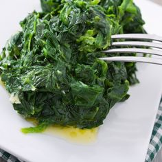 Quick and Easy Sauteed Spinach Recipe