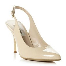 CADDIE - Slingback Pointed Toe Patent Court Shoe