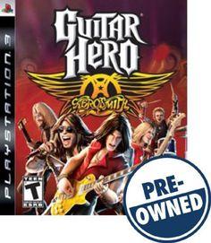 Guitar Hero: Aerosmith — PRE-Owned - PlayStation 3