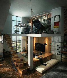 Creative Loft Bedroom Ideas Hold a Certain Fascination | Creative ...