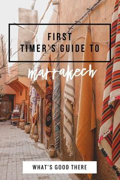 First Timer's guide to Marrakech, Morocco - Travel guide Travelling to Marrakech for the first time? Check out this first-timer's guide to Marrakech, Morocco. An endless sensory and cultural experience awaits! Visit Marrakech, Marrakech Travel, Visit Morocco, Marrakech Morocco, Morocco Travel, Africa Travel, Ethiopia Travel, Italy Travel, Travel Guides