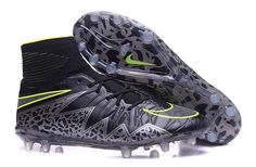 Pitch Dark Black Nike Hypervenom Phantom II FG