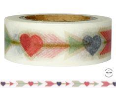 Masking Tape - Washitape PFEILE - ein Designerstück von Fitzi-Floet bei DaWanda