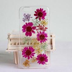 iphone 6 case Pressed Flower