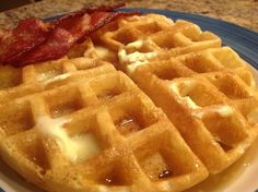 Tried this recipe it was great.  Just added a tsp of Vanilla Extract. The Bestest Belgian Waffles