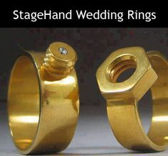 Stagehand wedding rings