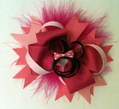 Minnie Mouse Boutique Bow by NovembersTwins on Etsy