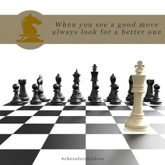 You are not big enough to lose, you are not big enough to win..... Visit : http://chessforchildren.in/ #chess #taniasachdev #chessforchildren #playchess #learnchess