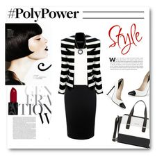 """What's Your Power Outfit?"" by defineyourstyle ❤ liked on Polyvore featuring Alexander McQueen, Balmain, R13, Nine West, Links of London and PolyPower"