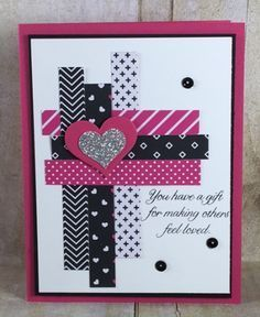 Gift of Love, Pop of Pink specialty designer series paper, Stampin' Up!, BJ Peters, Sweet & Sassy framelits, #stampinbj, #bjpeters