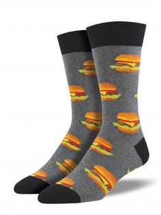 Anime Hamburger Unisex Funny Casual Crew Socks Athletic Socks For Boys Girls Kids Teenagers