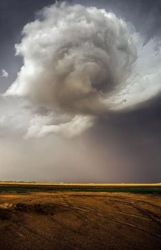 Nebraska Swirl - Developing Tornado Print by Douglas Berry