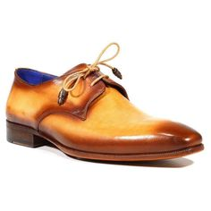 Paul Parkman Luxury Handmade Shoes Men's Shoes Hand-Painted Derby Camel / Brown Oxfords Material: Calfskin Color: Camel / Brown Outer Sole: Leather Comes with Original box and dustbag. Sizes listed in US sizing View Paul Parkman SIZE GUIDE Mens Derby Shoes, Men's Shoes, Dress Shoes, Mens Designer Shoes, Brown Oxfords, World Of Fashion, Camel, Dust Bag, Oxford Shoes