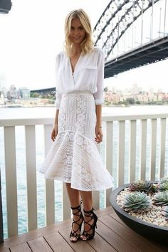 love this! white for the summer