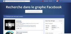 Test de la recherche dans le graphe Facebook. #Facebook #Graph #Search #Check pic.twitter.com/zBmxuVEcdf