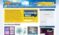 Wow Brushes es un directorio que reúne y organiza una amplia colección de pinceles gratuitos para Photoshop.