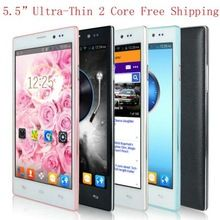 "5.5"" 5.5 inch QHD Capacitive Mobile Smart Phone Android 4.4 MTK6572 Dual Core 4GB Unlocked 3G/WCDMA GPS Cell Phone Smartphone  click on the aliexpress link at plonlineventures.com"