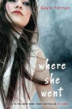 Where she went by Gayle Forman.  Click the cover image to check out or request the teen kindle.