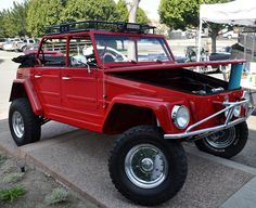 An off roading VW Thing incase I don't get my monster manx