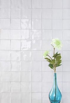 Provenza Craquele Blanco white textured crackle glaze gloss tile