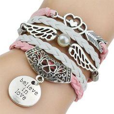 Love Owl Leather Bracelets