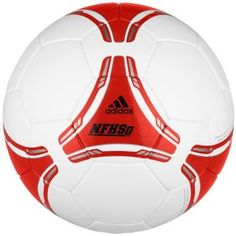 adidas FIFA 2012 NFHS Club Ball  $39.99    High quality and exceptional durability make this ball outstanding. It is FIFA inspected and has passed their tests on circumference, weight, rebound and water absorption. This hand-stitched training ball is built with a latex bladder for the best rebound characteristics. 100% polyurethane.