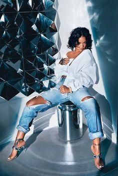 Rihanna x Manolo Blahnik So Stoned campaign Bajan Princess mule sandal