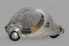 L'œuf électrique de Paul Arzens, 1942 (now on display in Atlanta) - Photo Musée des arts et métiers/C.Compan