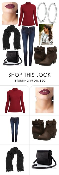 """Chilly outside"" by peridot11871 ❤ liked on Polyvore featuring Rumour London, Lime Crime, J Brand, Rocket Dog and Acne Studios"