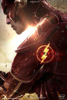 The Flash Ezra Miller Teaser Poster by Bryanzap on DeviantArt