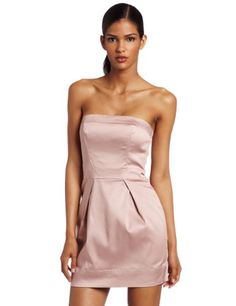 $64.95 Amazon.com: French Connection Women's Caramel Cotton Strapless Dress: Clothing