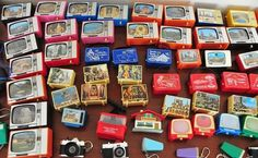 Juegos, juguetes y artículos antiguos- Visor diapositivas TV.