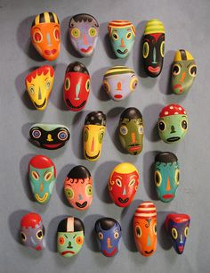 cool painted rocks