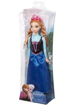 Muñeca Frozen Anna Purpurina Mattel MATCFB81