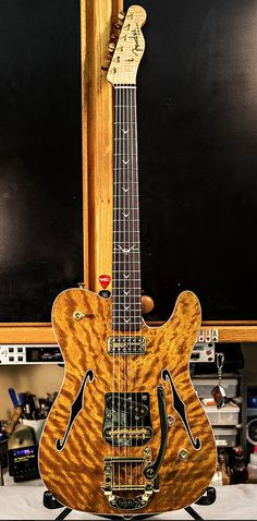 Fender Telecaster Thinline- yes this guitar is real and no yr not dreaming!