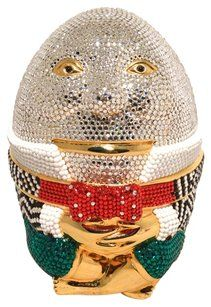 Judith Leiber Humpty Dumpty multicolored Clutch