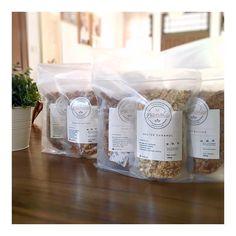 #granola #granolajakarta #gogranolaid #gogranolajakarta #itsgooditsgogranola #choosehealthy #healthyfood #healthyeating #saltedcaramel #cinnahoney #peanutbutter #craftedgranola #homemadeisbest curated by Copious Bags™