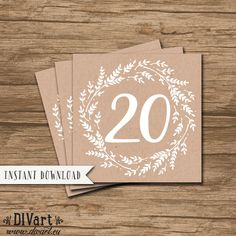 Worksheets Tables 20 To 30 Pdf wedding table numbers printable rustic wreath 1 20 files instant download garden wedding