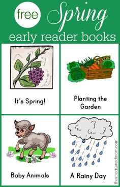 Free set of Spring early reader books