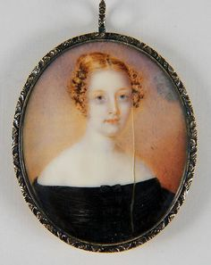 Anna Claypoole Peale Portrait Miniature Painting Signed Named Sitter | eBay